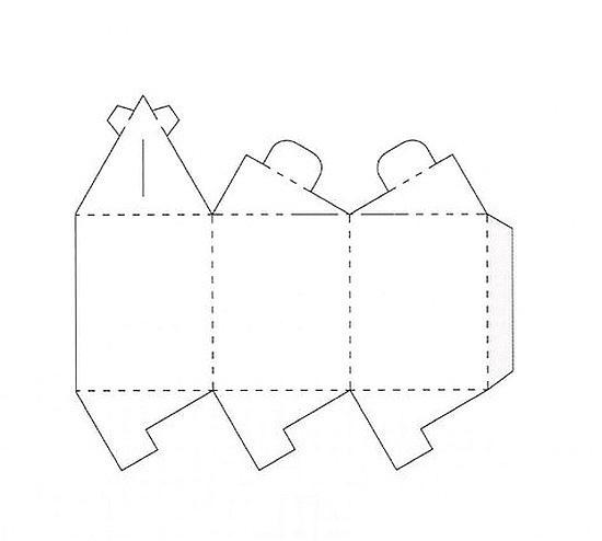 Схемы сборки, показаны сгибы.