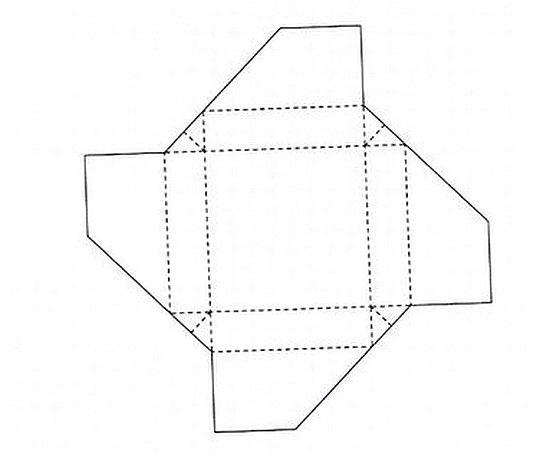 Схема сборки коробочек